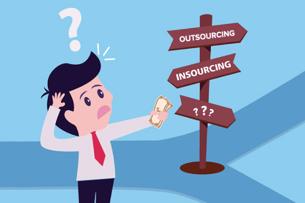 which is better insourcing outsourcing