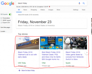 Black Friday Search Results