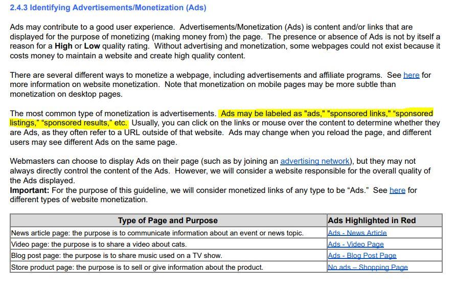 Advertisements/Monetization (Ads)