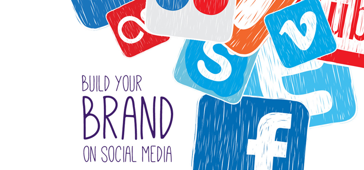 build a brand from scratch through social media