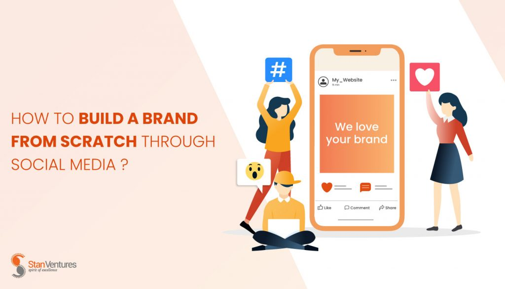 build a brand from scratch
