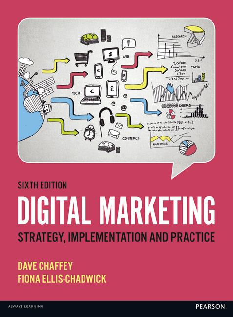 Digital Marketing Book by Dave Chaffey & Fiona Ellis