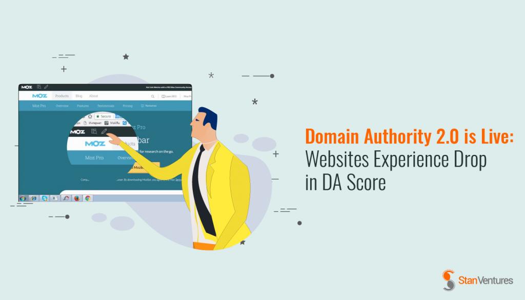domain authority update