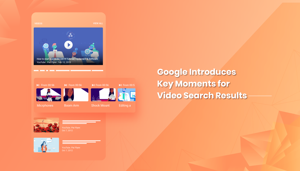 Search queries with Video results