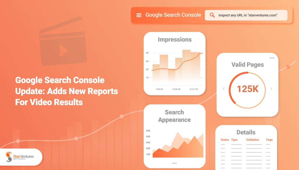 Search Console - Video Enhancement Report