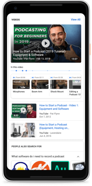 Key Moments In Video Search