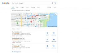Local Seo For Lawyers - GMB