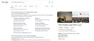Online reviews impacting overall SEO ranking