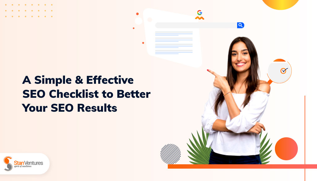 A Simple & Effective SEO checklist for 2020