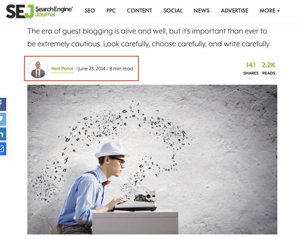 guest posting for contextual backlinks